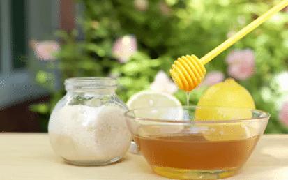 sucre miel citron