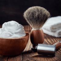 crème rasage blaireau