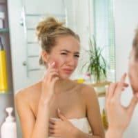 acné femme