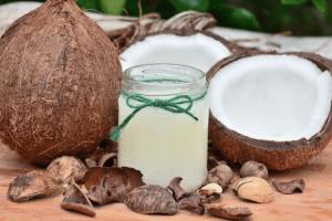 huile de coco vierge